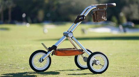 golf push cart pushcart walker gear course