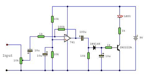 Audio Indicator Circuit Project