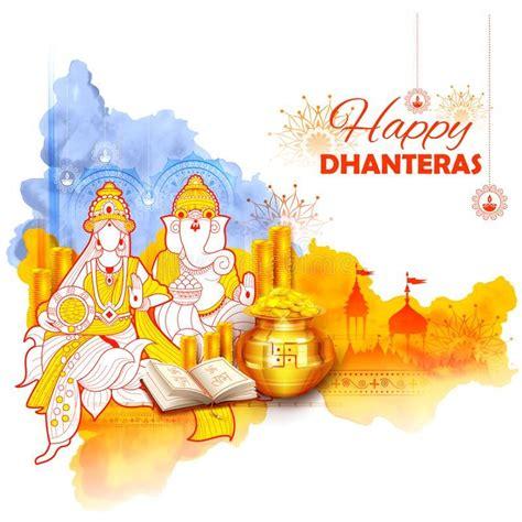 gold coin  pot  dhanteras celebration  happy