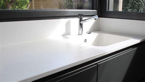 plan de travail cuisine avec evier integre le gal marbre et design le