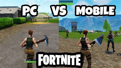fortnite pc  mobile gameplay youtube
