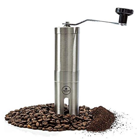 It's up to you to adjust your choice size. Hand Coffee Grinder with Conical Burr by EZE Homegoods - Ideal for Cold Brew, Pour Over ...