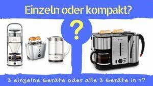 Kaffeemaschine Und Wasserkocher In Einem Gerät : fr hst cksset kaffeemaschine toaster wasserkocher in einem ~ Michelbontemps.com Haus und Dekorationen