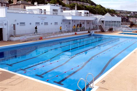 gourock outdoor pool gourock swimming pools visitscotland
