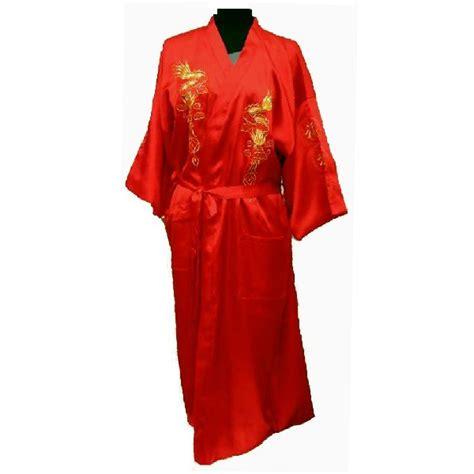 robe de chambre asiatique kimono en satin