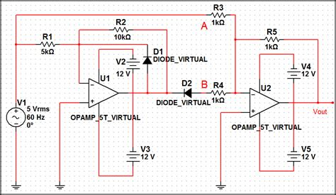precision full wave rectifier circuit