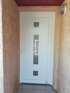 Poser Une Porte D Entrée En Rénovation : pose en r novation d 39 une porte d 39 entr e pvc toulon ~ Dailycaller-alerts.com Idées de Décoration