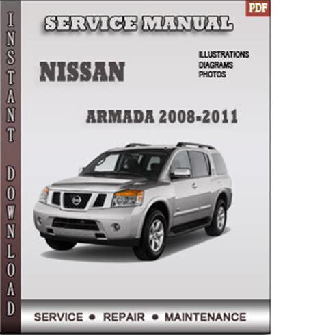 electric power steering 2010 nissan armada security system 2008 2011 nissan armada service repair manual