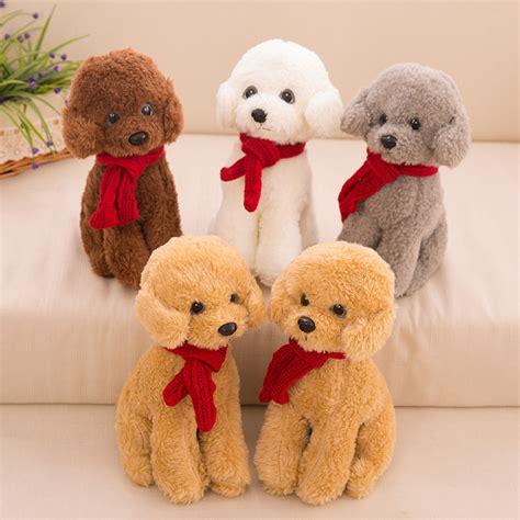 cm  piece sitting teddy dog  red scanf pp cotton