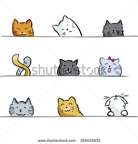 cat drawing stock  images pictures shutterstock