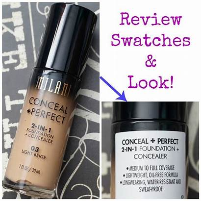Milani Foundation Conceal Perfect Concealer Must Haves