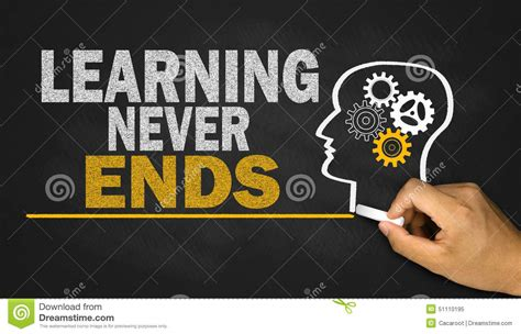 learning  ends stock image image  improve study