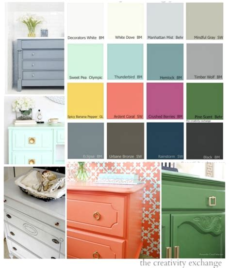 best paint to paint furniture 16 of the best paint colors for painting furniture