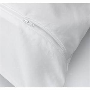 classic microfibre anti allergen dustmite proof pillow With best dust mite pillow protectors