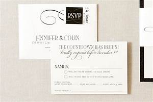 new years eve formal wedding invitations gourmet invitations With wedding invitations with rsvp and song request