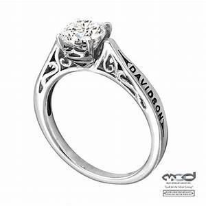 Harley Davidson Diamond Rings Wedding Promise Diamond