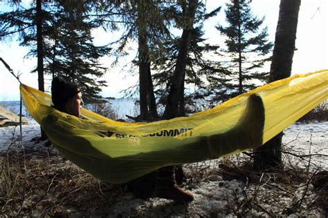 First Look Sea To Summit 'world's Lightest Hammock