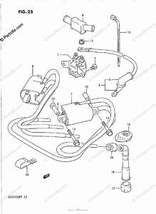 Suzuki Motorcycle 1991 Oem Parts Diagram For Electrical