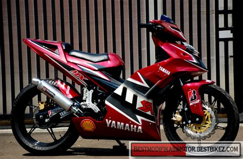 Modifikasi Jupiter Mx Bore Up by Modifikasi Yamaha Jupiter Mx Drag Gambar Modifikasi