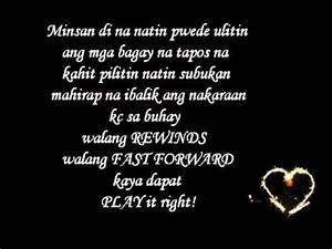 YouTube - New LOVE and SAD Tagalog Quotes.flv - YouTube
