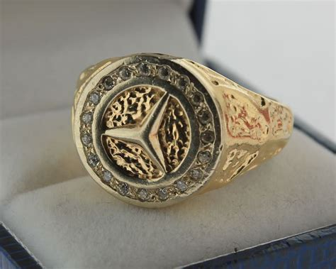 mercedes ring 14 kt solid mercedes ring catawiki