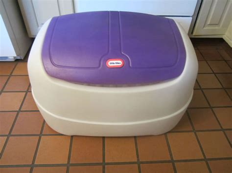 Little Tikes Toy Box Purple And White On Popscreen
