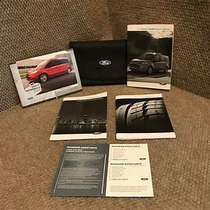 2015 Ford Transit Connect Owners Manual With Warranty