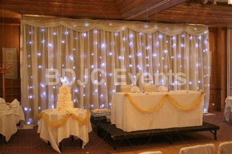 rustic wedding backdrop decoration starlight wedding