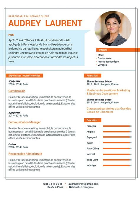 Comment Faire Un Cv En Franàçais Exemple by 13 Exemple De Cv Original Communication De Lettre