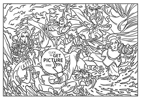 Avatar Kleurplaat by The Legend Of Korra Coloring Pages For Printable