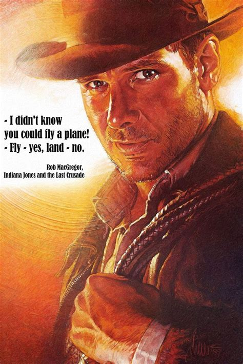 indiana jones quotes classic   film poster