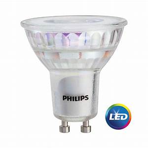 Philips Gu10 Led : philips 50w equivalent bright white mr16 gu10 led light bulb 3 pack 465054 the home depot ~ Buech-reservation.com Haus und Dekorationen