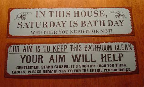primitive bathroom sayings  quotes quotesgram