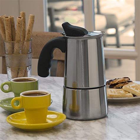Delivering products from abroad is always free. Primula Stainless Steel Stovetop Espresso Coffee Maker, 4-Cup - thebeanbrewer.com
