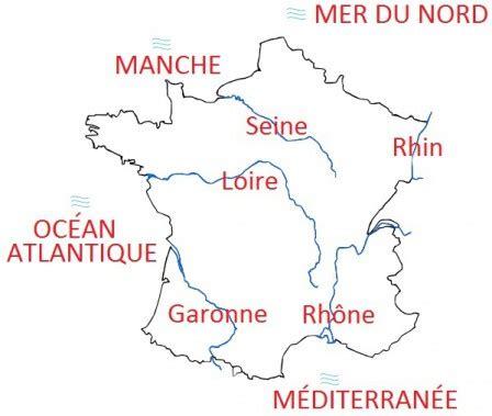 Carte De Fleuves Et Montagnes Vierge by G 233 Ographie Cm1 Cartes Des Montagnes Des Mers Et
