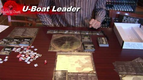 U Boat Game by Uboat Leader Board Game Review Dvg Youtube