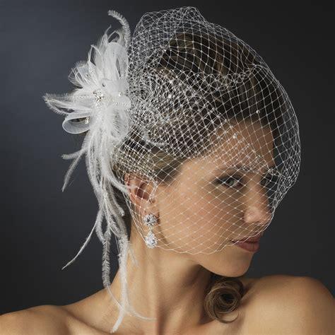 birdcage veils fascinators  beautiful bride