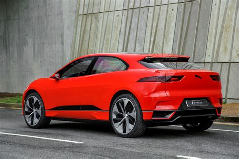 Jaguar Ipace  The Future Of Electric Motoring Hits The