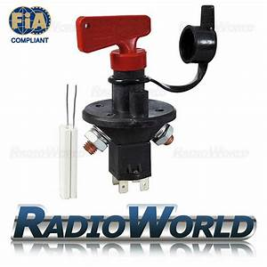 Master Battery Isolator Cut Out Off Kill Switch Fia Type