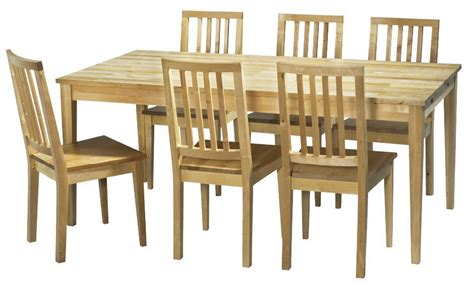 birch dining table chairs chair pads cushions
