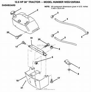 Ayp  Electrolux Weg125r38a  1994  Parts Diagram For Dashboard