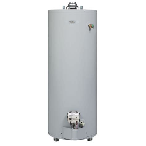 Shop Whirlpool 40gallon 6year Limited Tall Natural Gas