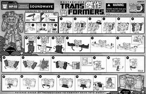 Transformers Masterpiece Soundwave Instructions 01
