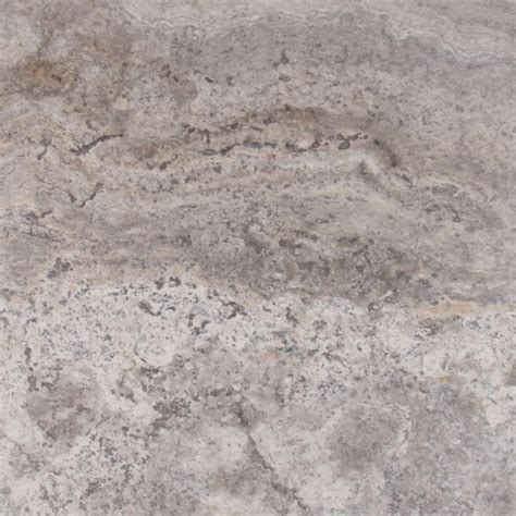 Floor Tile Ideas For Kitchen - msi silver 18 in x 18 in honed travertine floor and wall tile ttsiltr1818hf the home depot