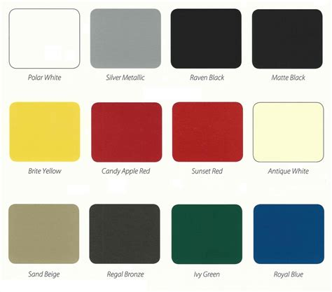 color charts s