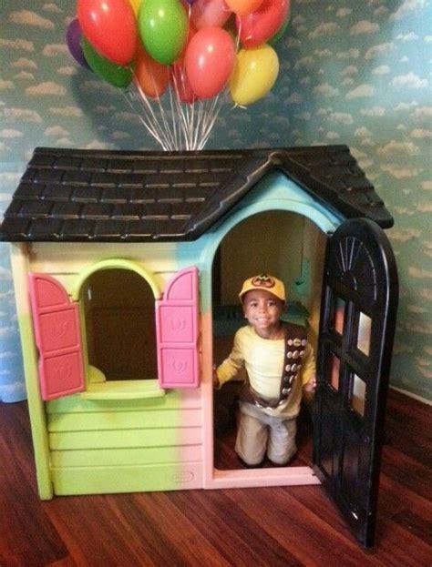 diy recycled  tykes play house turn disney pixar