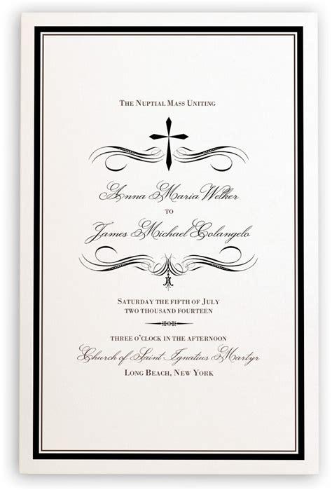catholic wedding programs catholic wedding ceremony