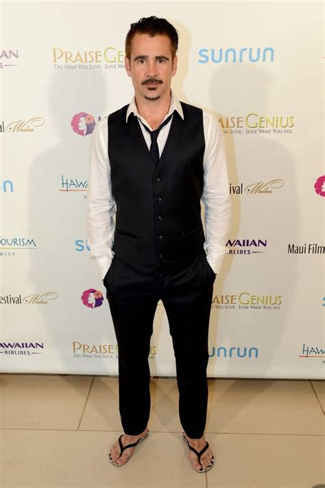 colin o donoghue barefoot colin farrell barefoot famous in varying degrees