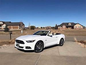 6th gen white 2015 Ford Mustang GT Premium convertible For Sale - MustangCarPlace