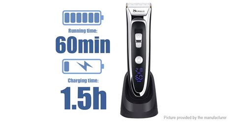surker rechargeable electric hair clipper trimmer authentic